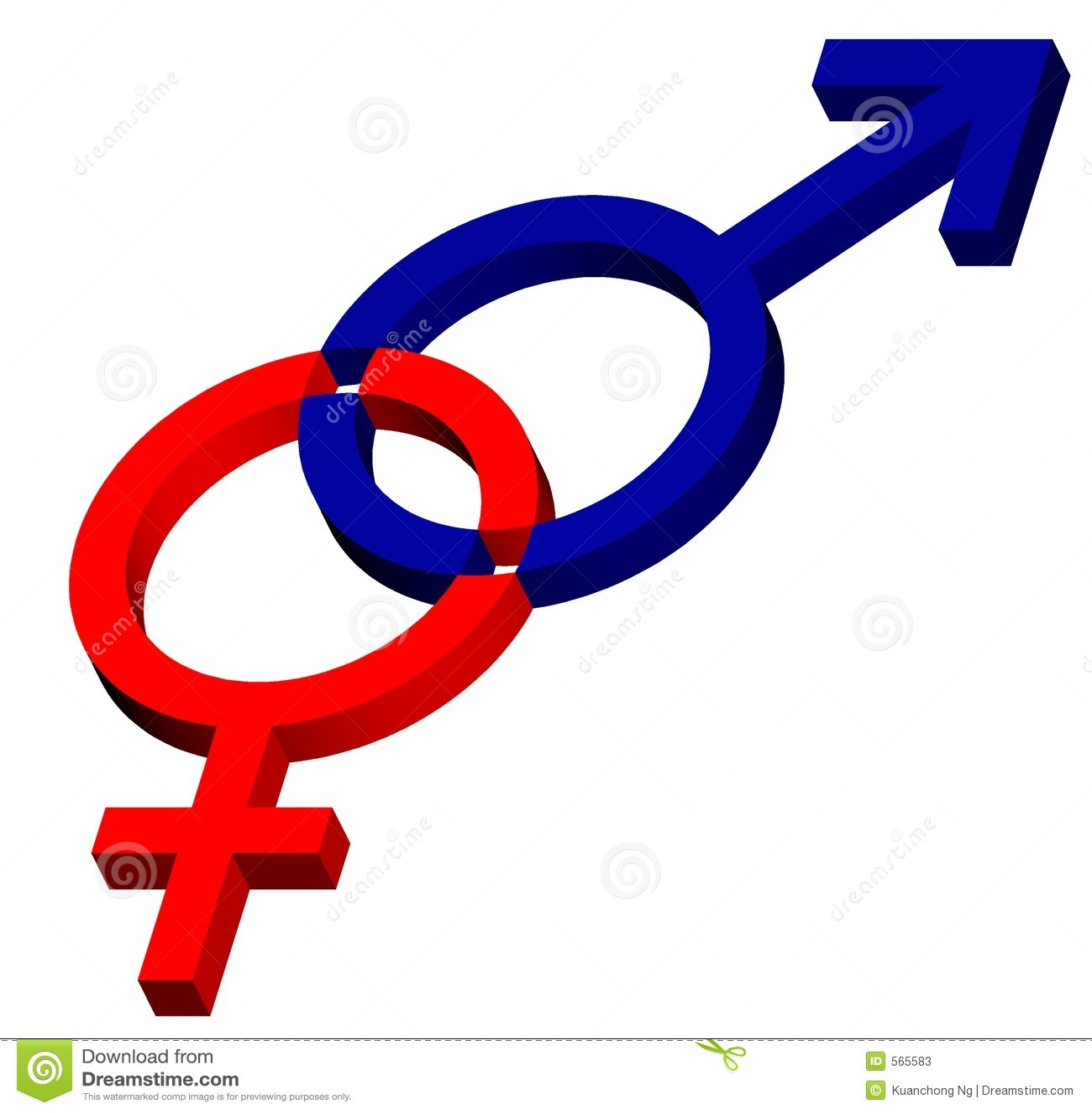 Symbole hommes-femmes