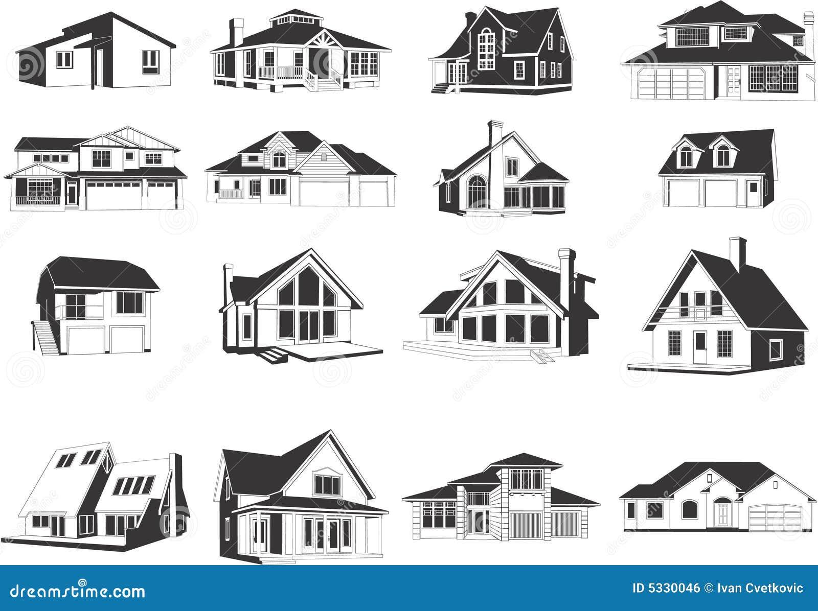Symbole nowoczesnych house