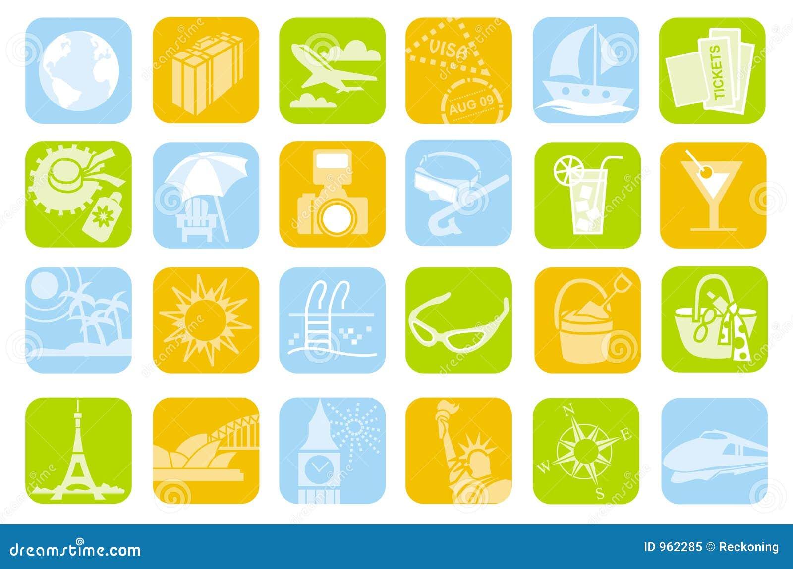 Symbole podróży