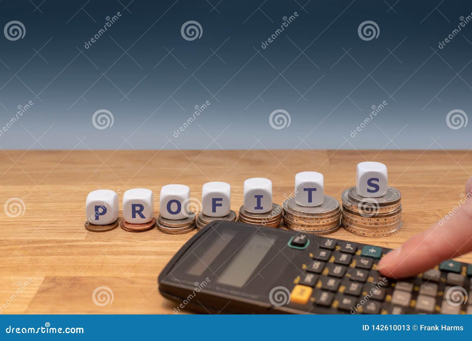 Symbole pour des bénéfices croissants