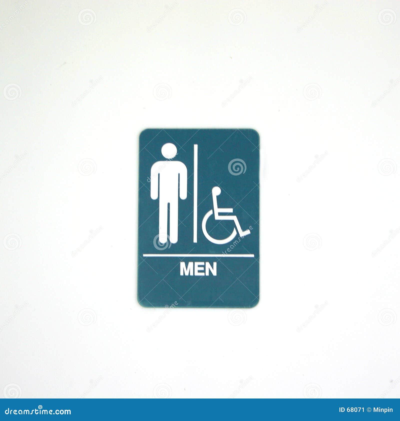 Symbole pour la pièce des hommes