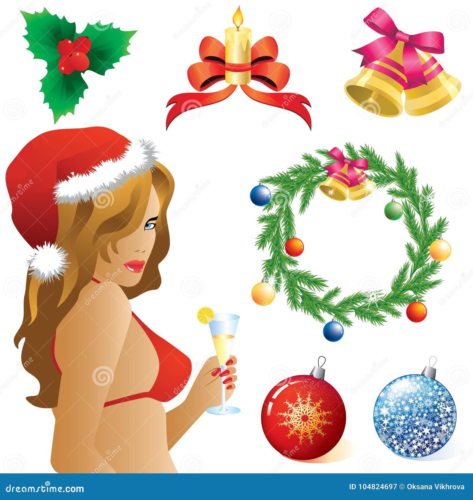 Symbole von Weihnachten