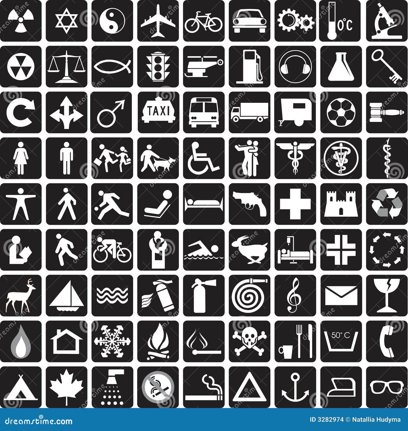 Symbole zbierania danych