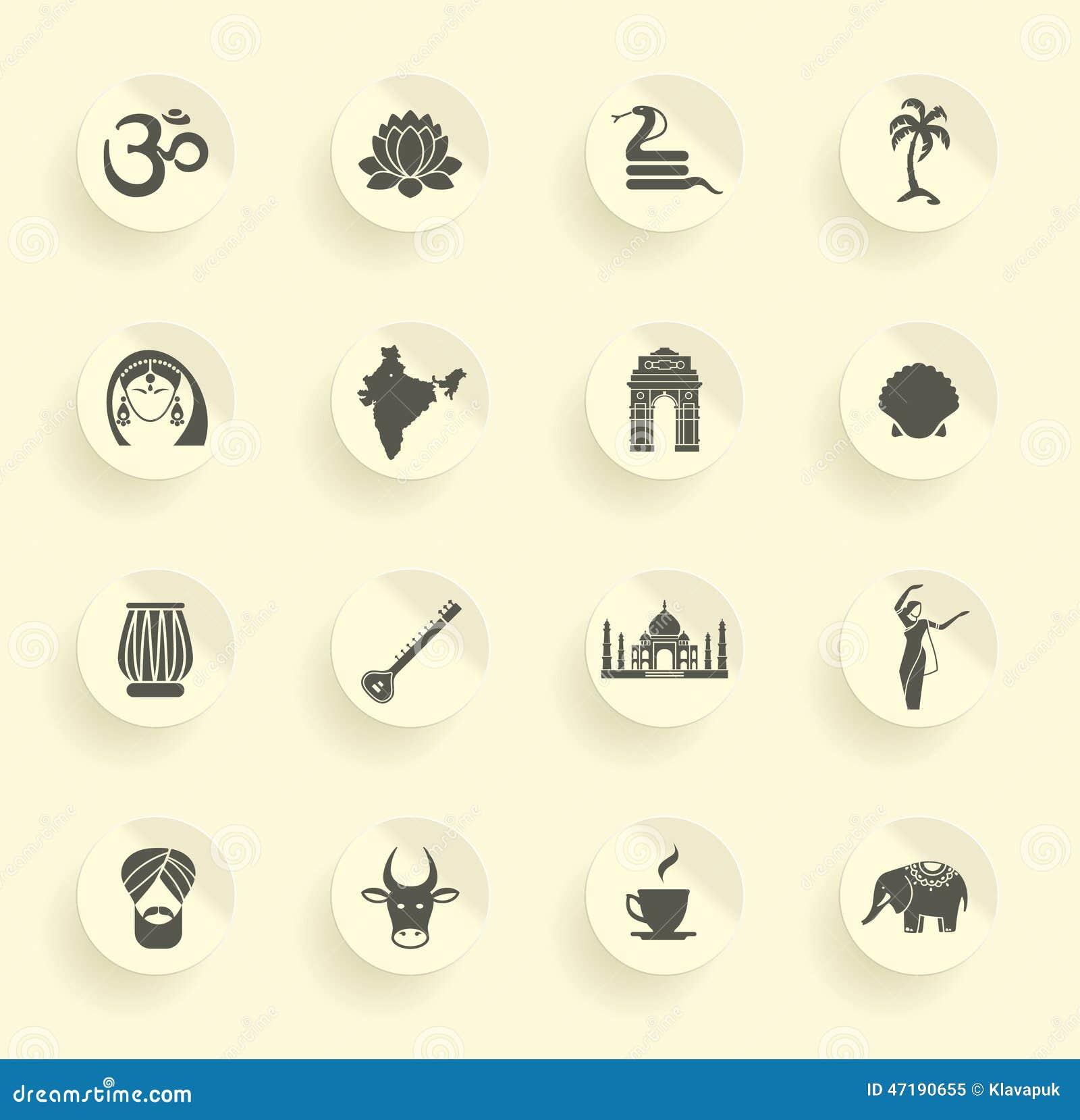 Symboler av Indien