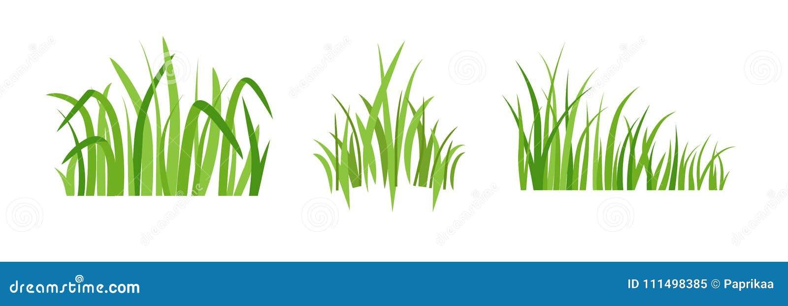 Symboler Eco för grönt gräs