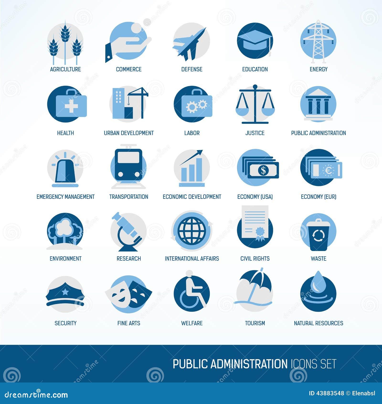 Symboler för offentlig administration