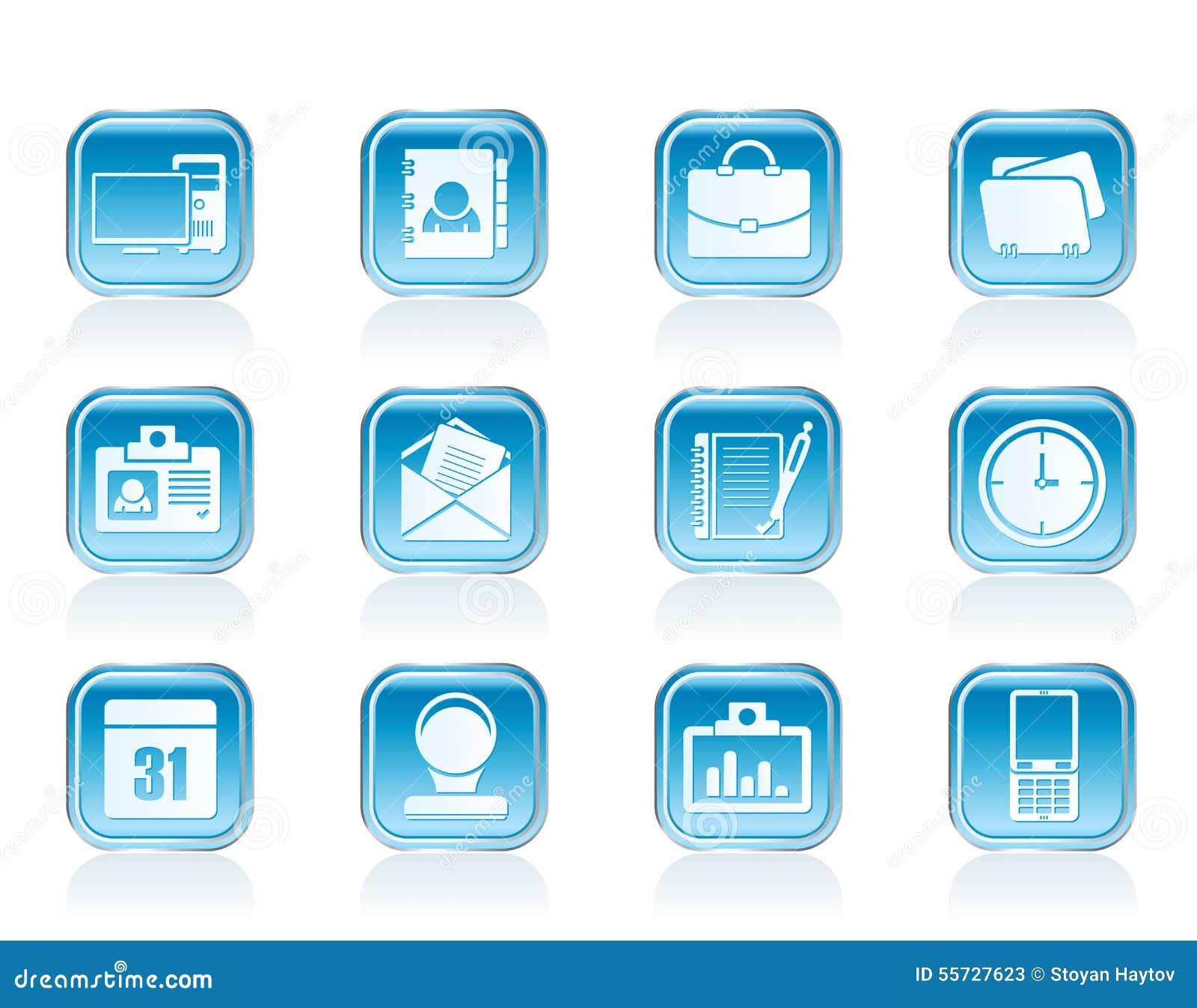 Symboler för rengöringsdukapplikationer, affärs- och kontors, universella symboler