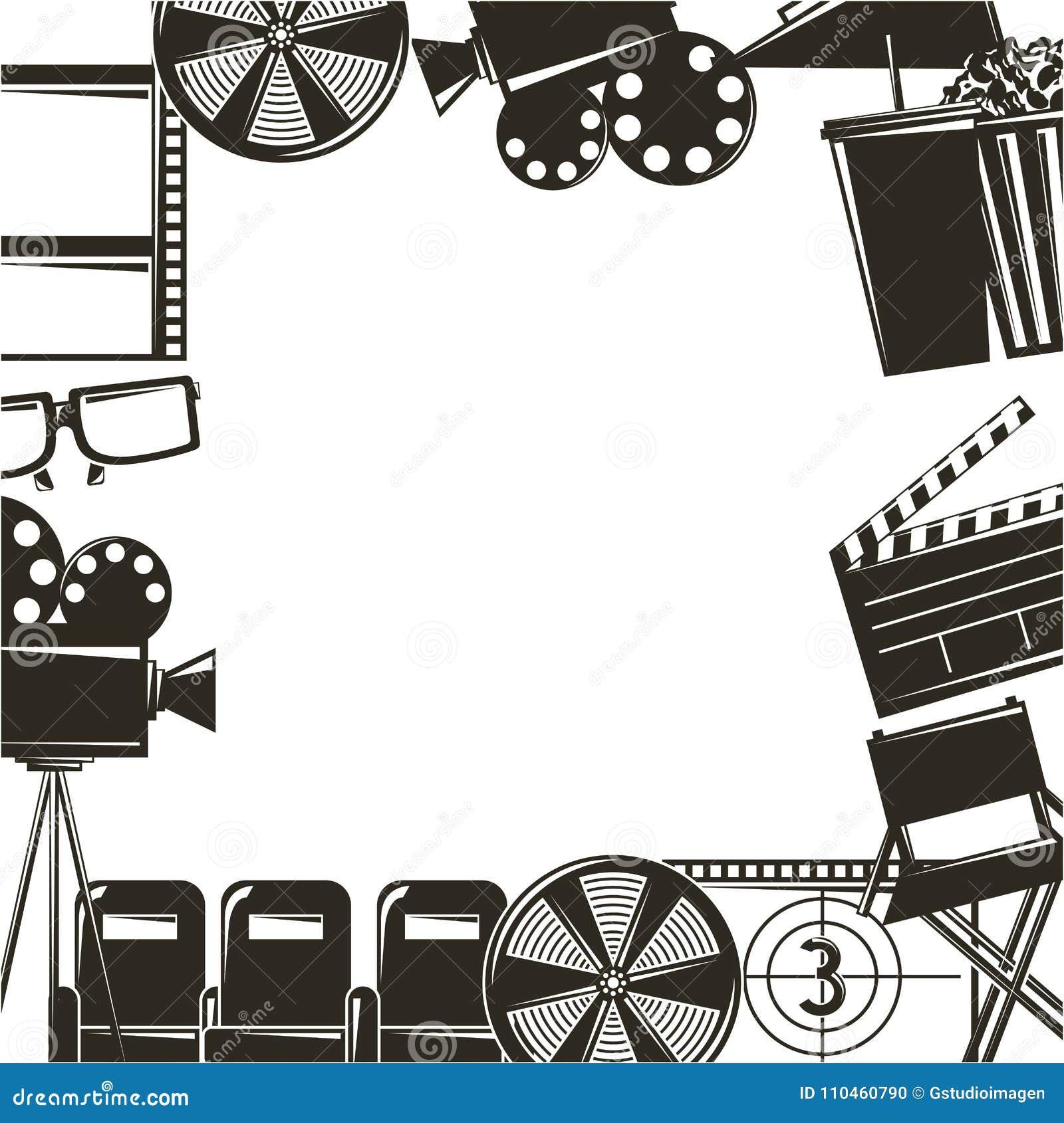 Symboler för uppsättning för utrustning för biofilmfilm