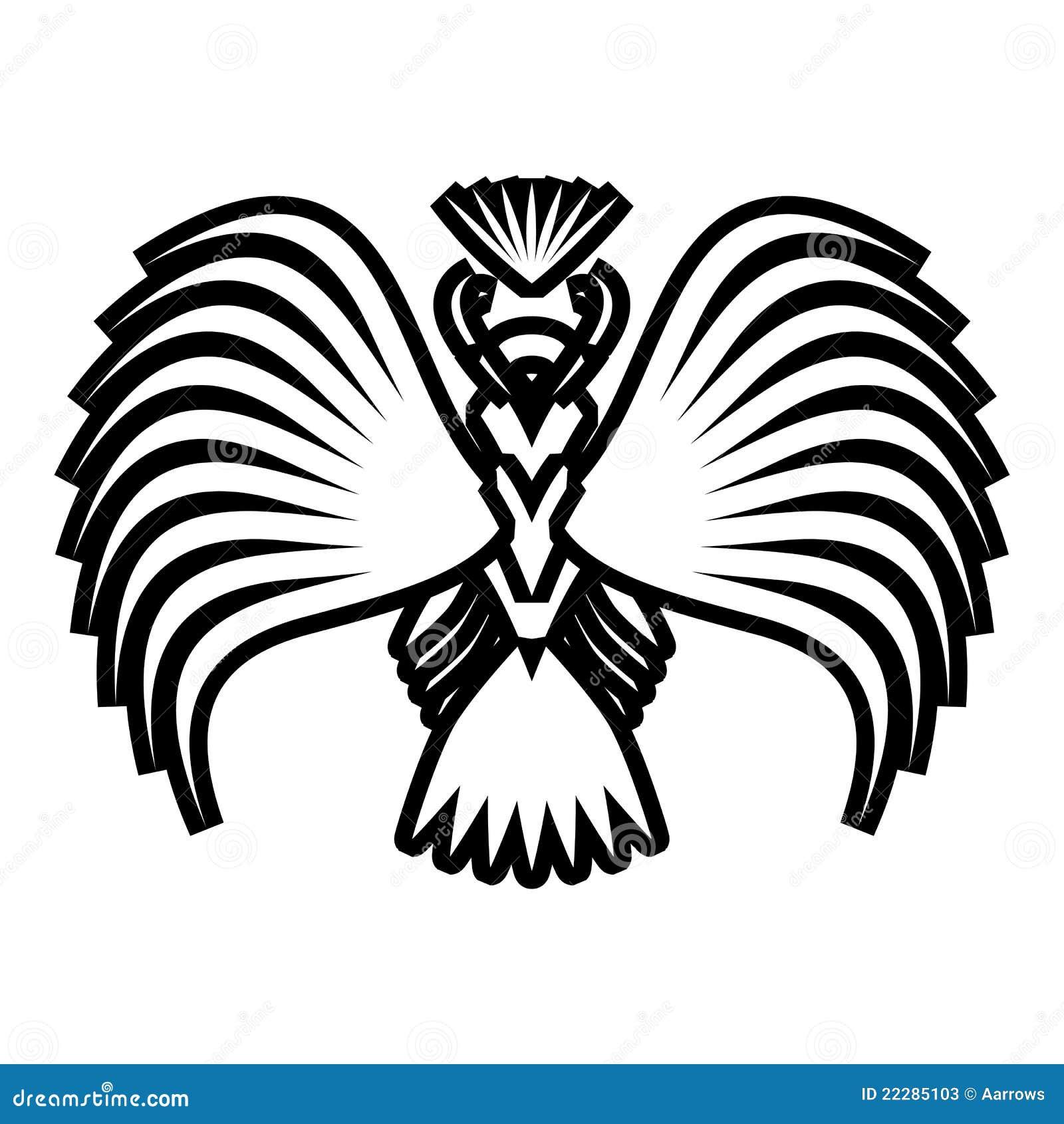 symboles d 39 aigle et tatouage illustration de vecteur illustration de vecteur image 22285103. Black Bedroom Furniture Sets. Home Design Ideas