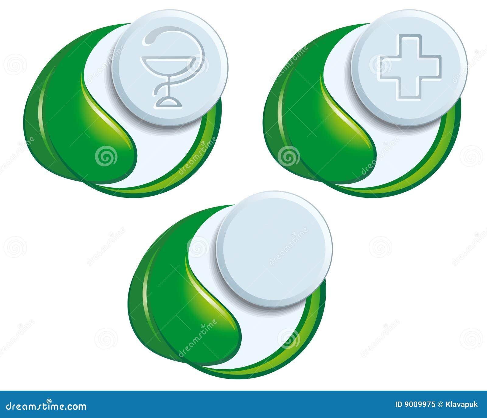 Symboles de médecine normale