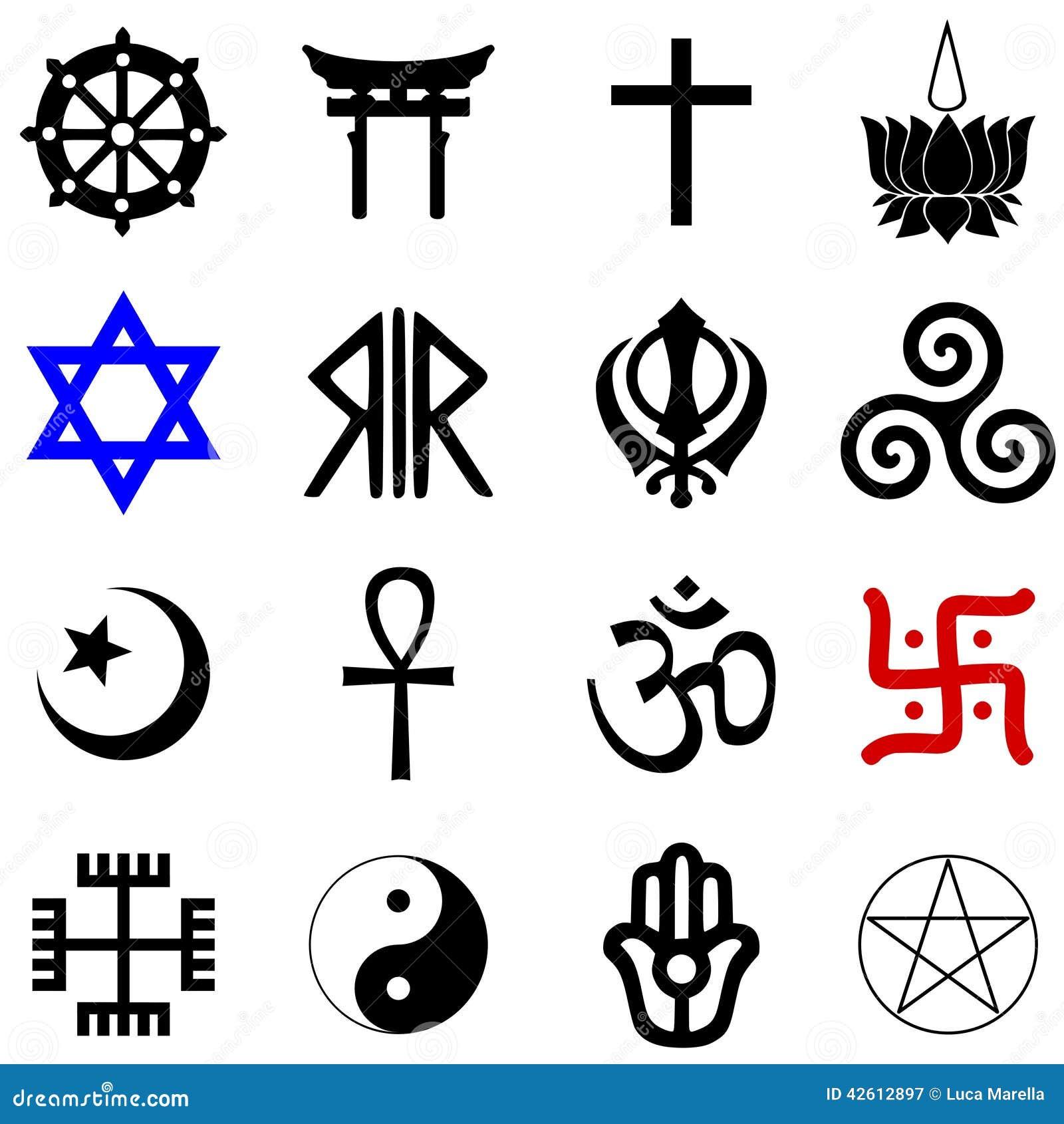 Symboles de religions