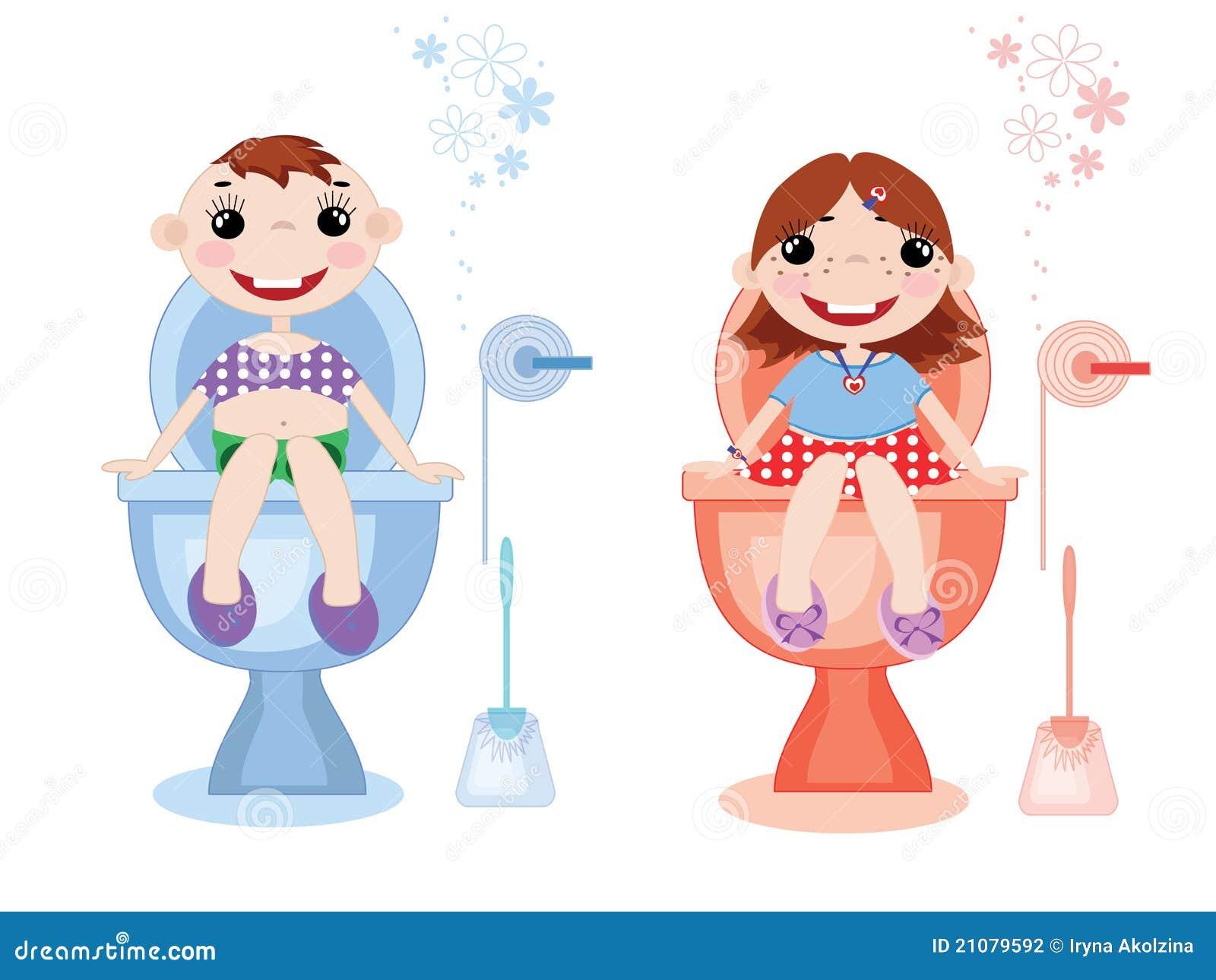 Symboles De Toilette Photographie Stock Image 21079592