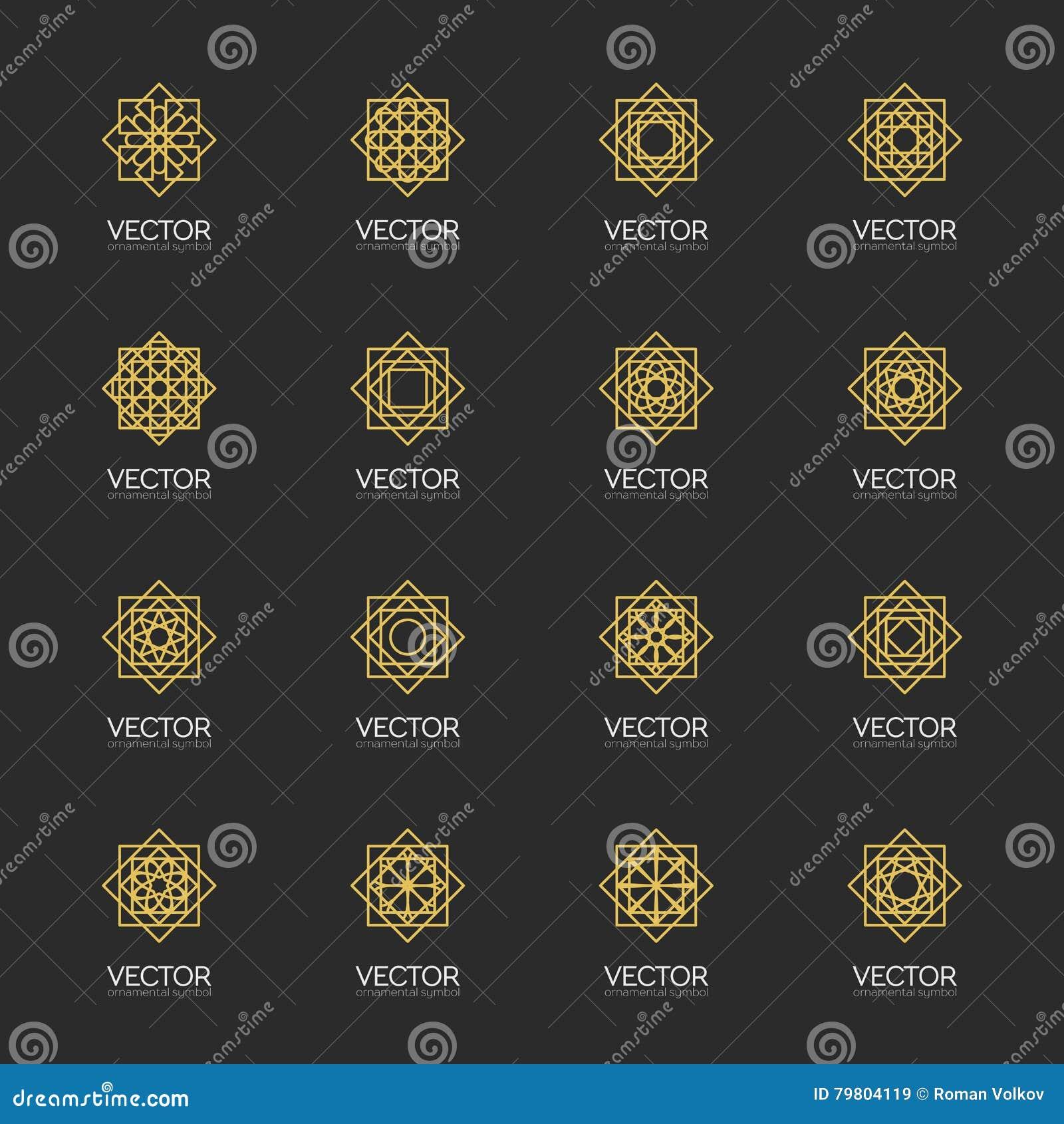 Symboles géométriques de vecteur