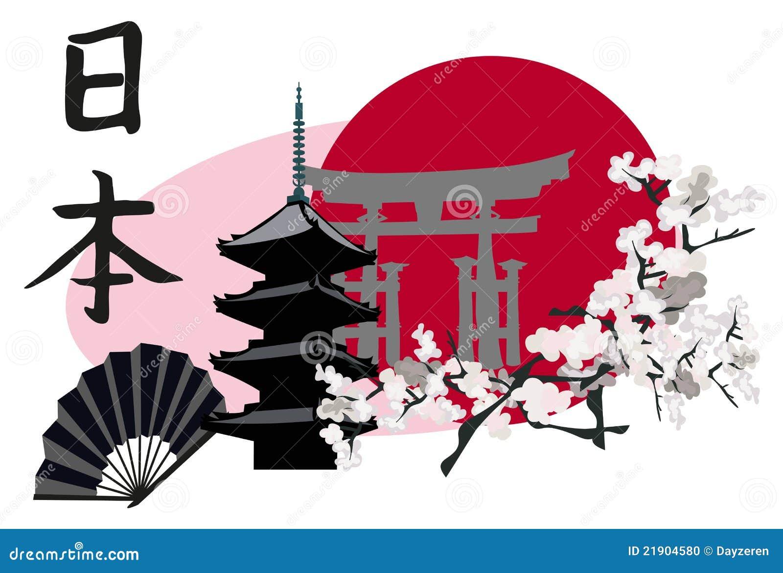 symboles japonais photo stock image 21904580. Black Bedroom Furniture Sets. Home Design Ideas