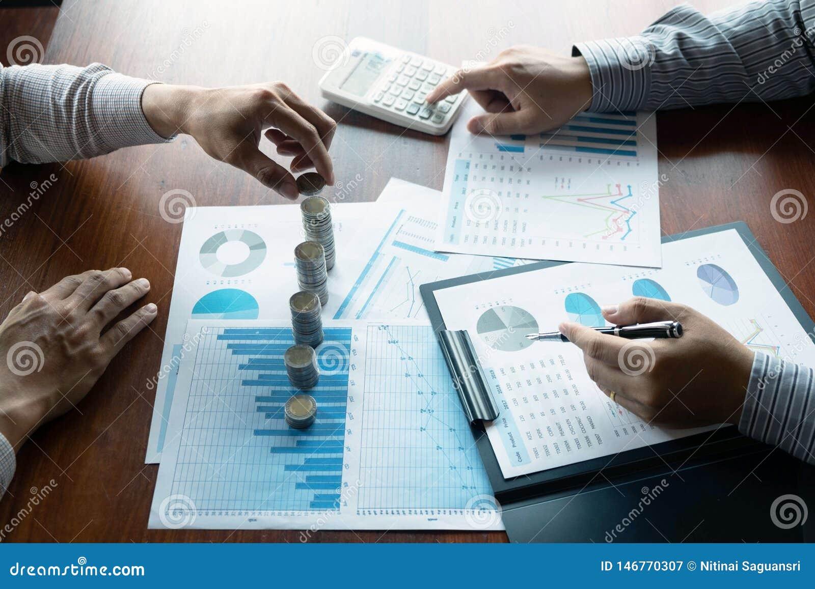 Symbolmyntaff?r, finans, finansiell tillv?xt, investering som konsulterar, finans, investering, aff?r, arbete, redovisning