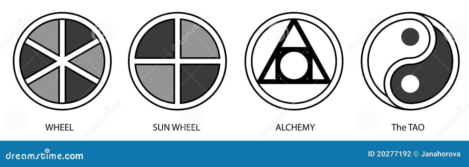 Symbols 1 Stock Illustration Illustration Of Circle 20277192