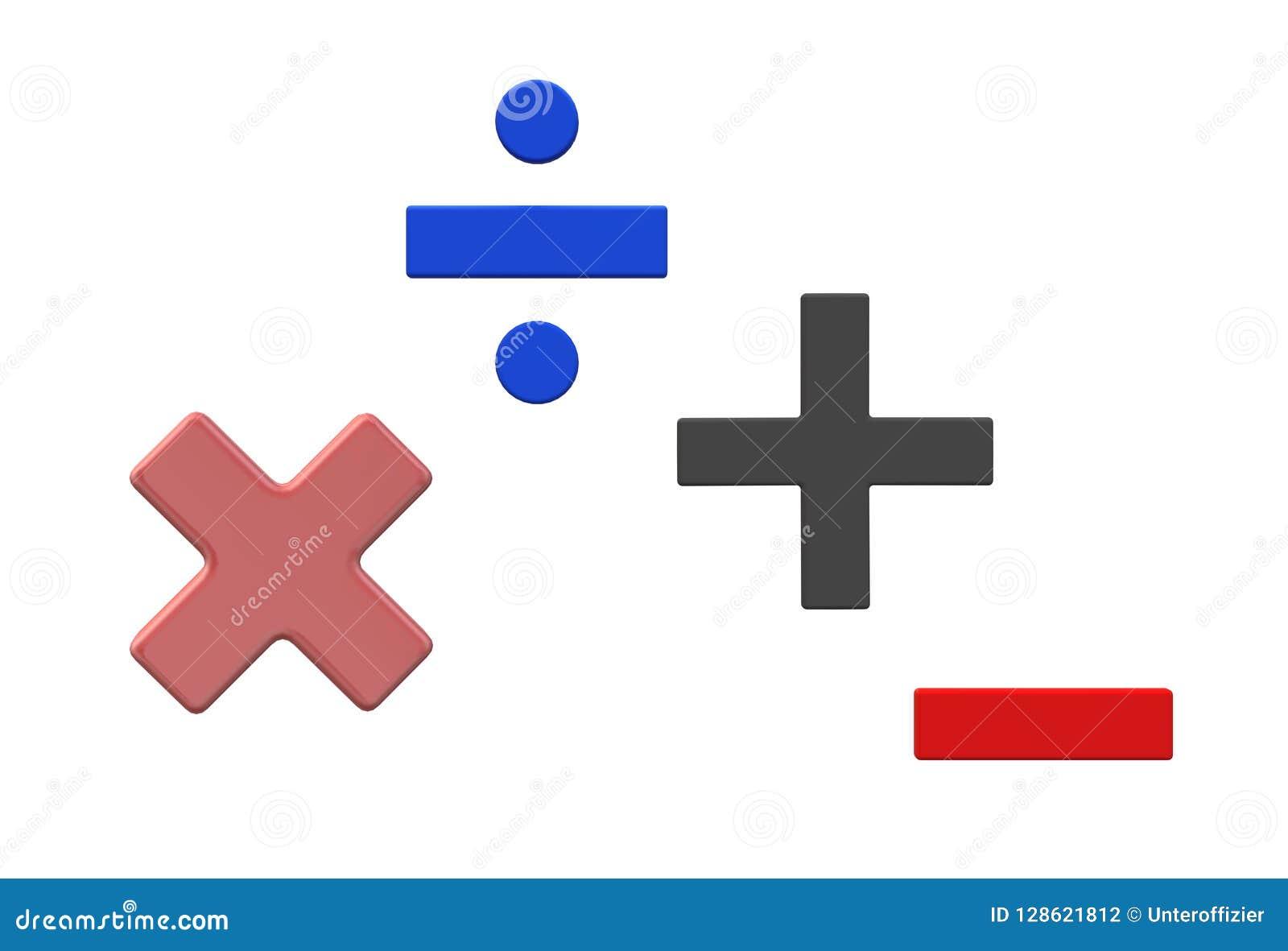 Multiplication Stock Illustrations