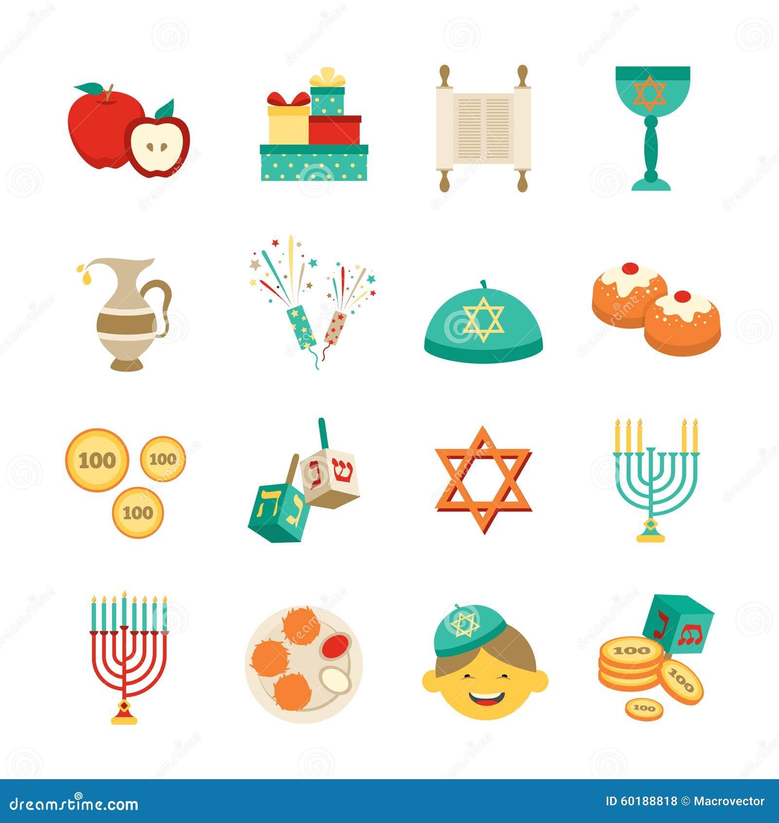 Uncategorized Chanukah Symbols symbols of hanukkah icons set stock vector image 60188818 royalty free download hanukkah
