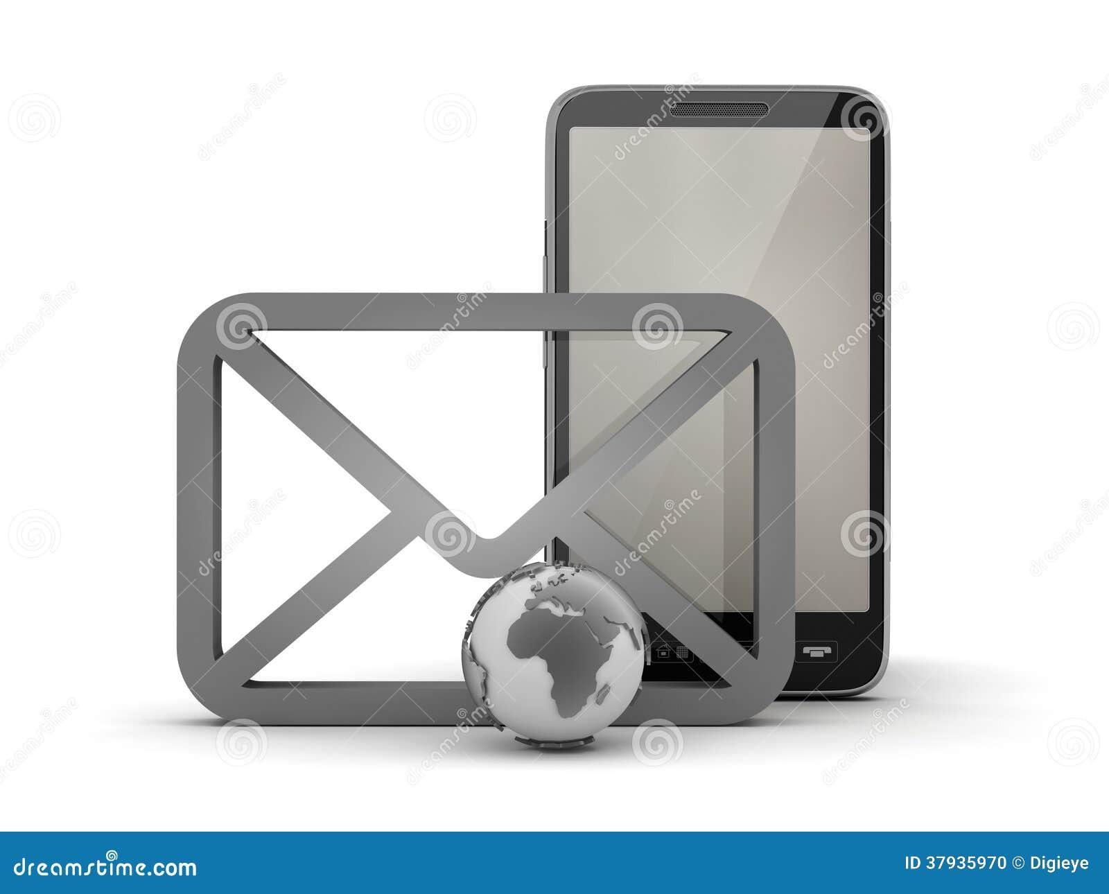 Symbols of mobile internet stock illustration illustration of e symbols of mobile internet biocorpaavc