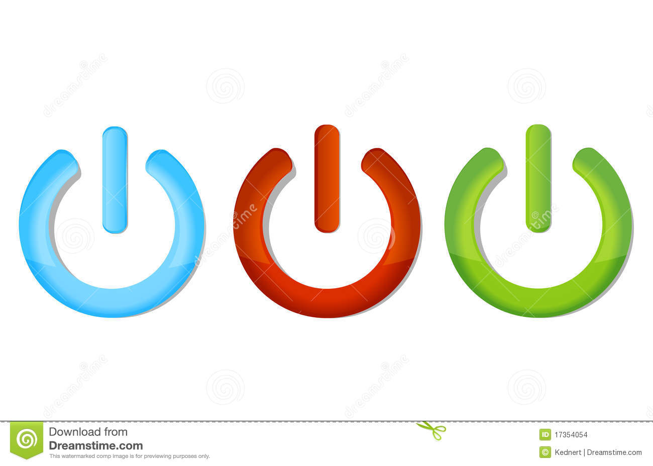 Symbols on off set stock vector. Illustration of shape - 17354054