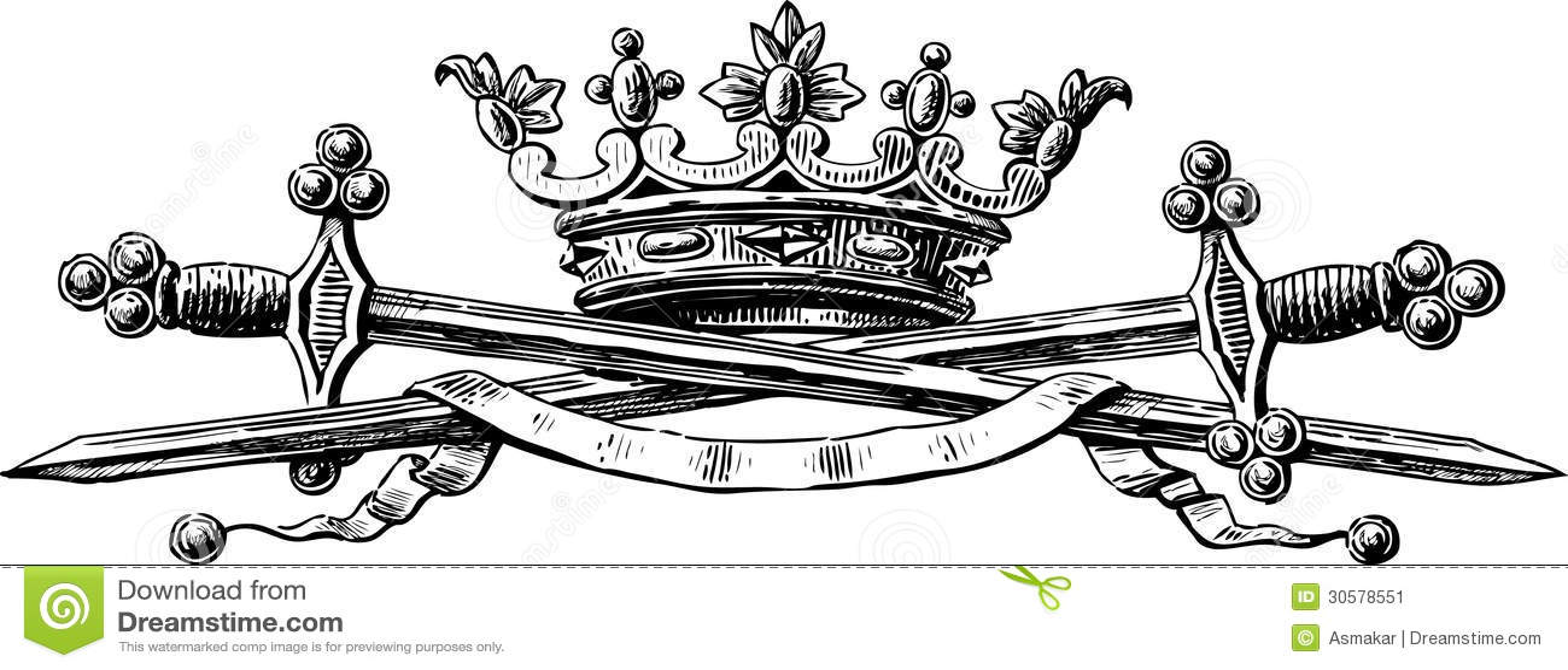 Symbols Of Power Stock Vector Illustration Of Heraldry 30578551