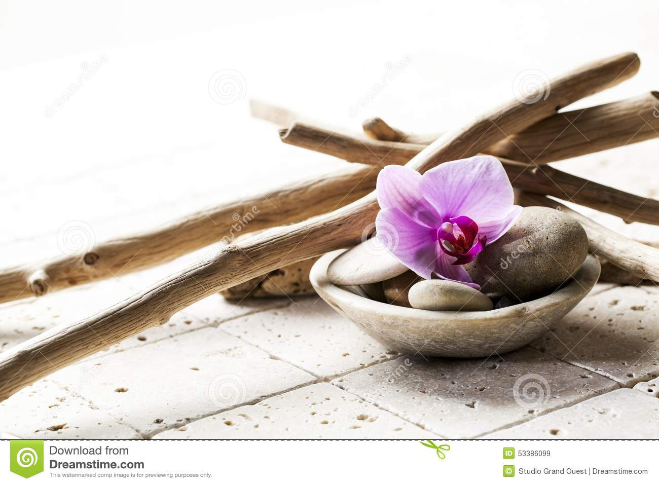 Symbols Of Purity With Mineral Elements Stock Image Image Of