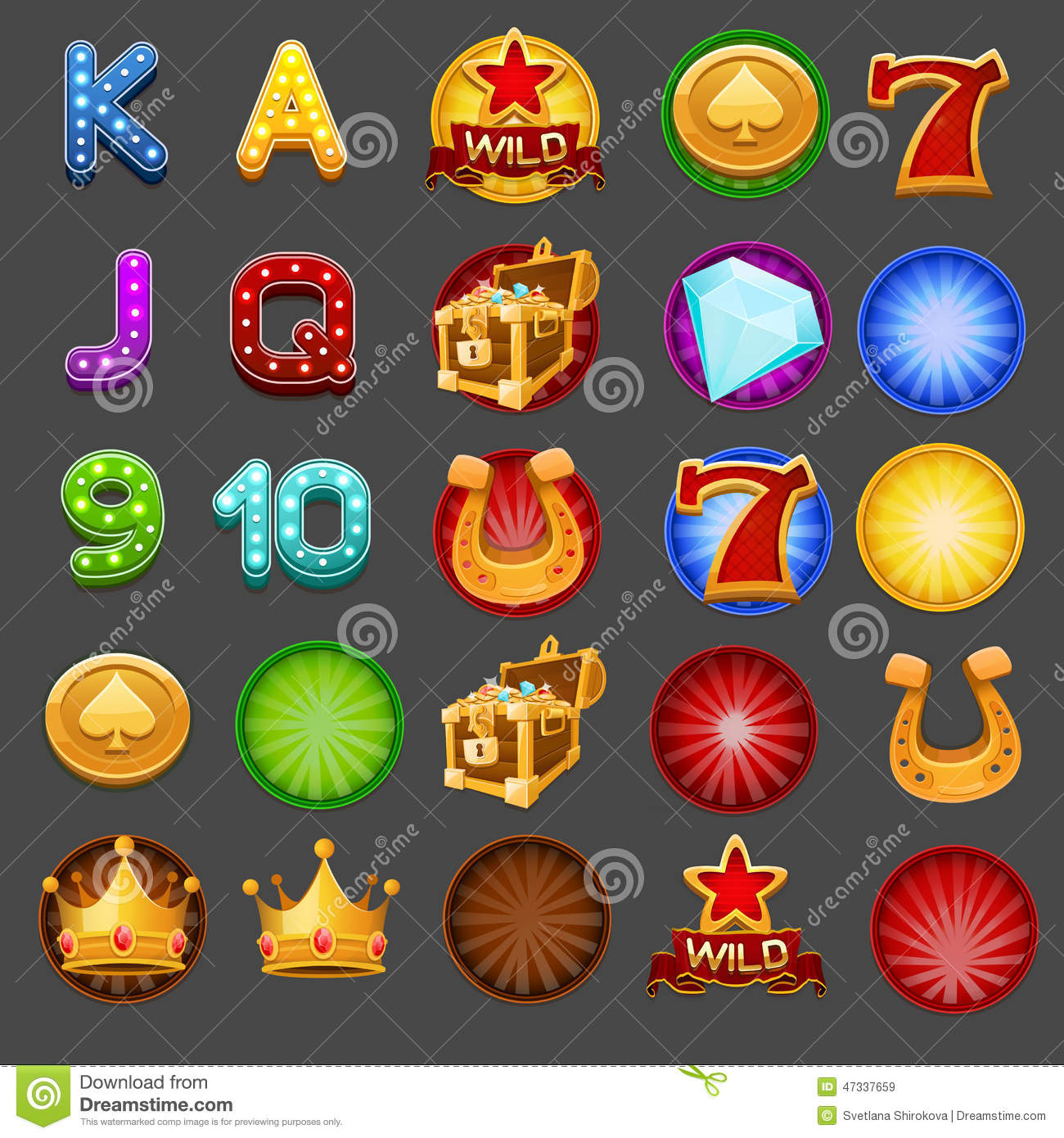 All free slots games with Wild Symbols - 7