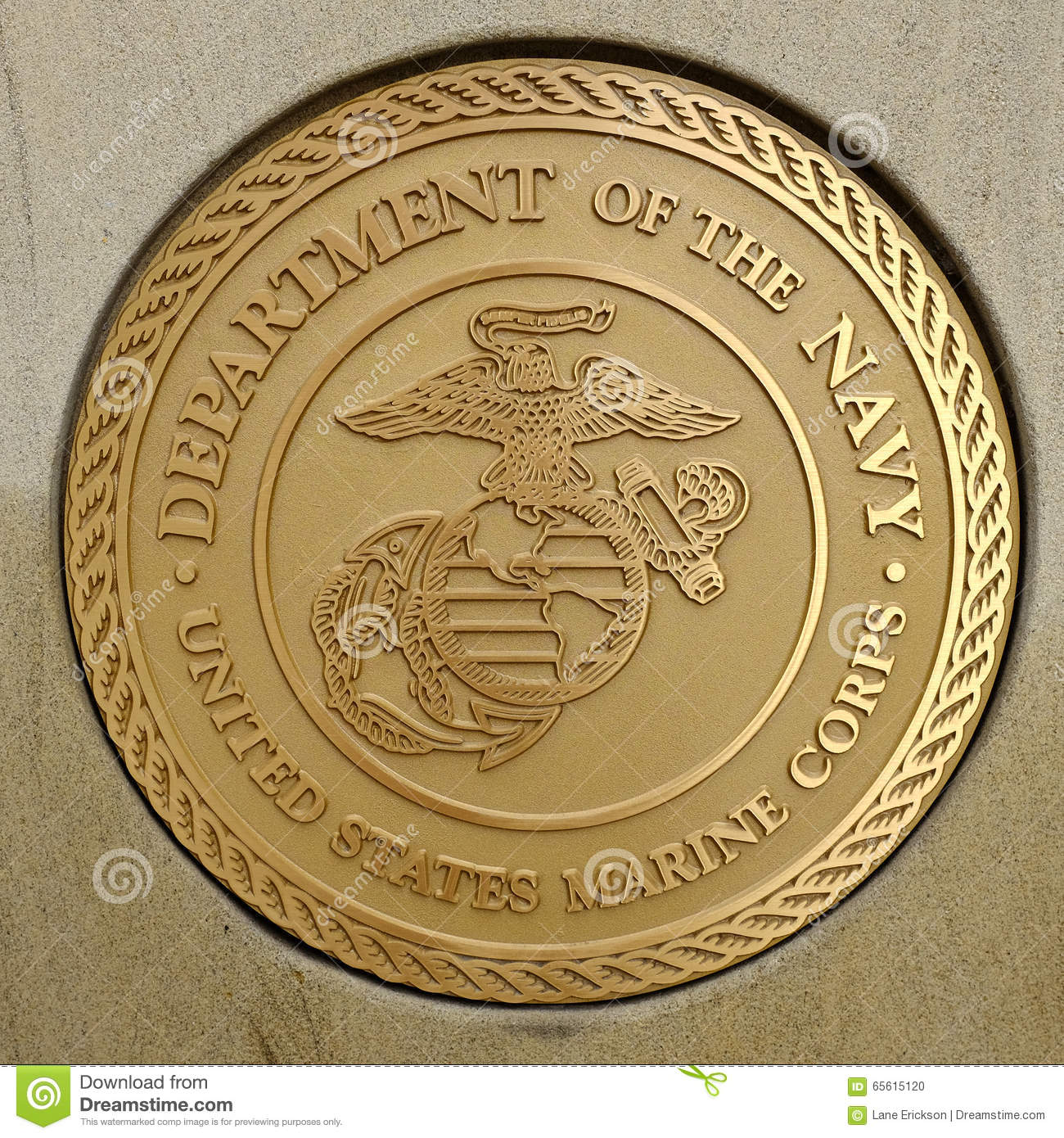 Symbols Of Usa Military Army Navy Airforce Marines Editorial Image