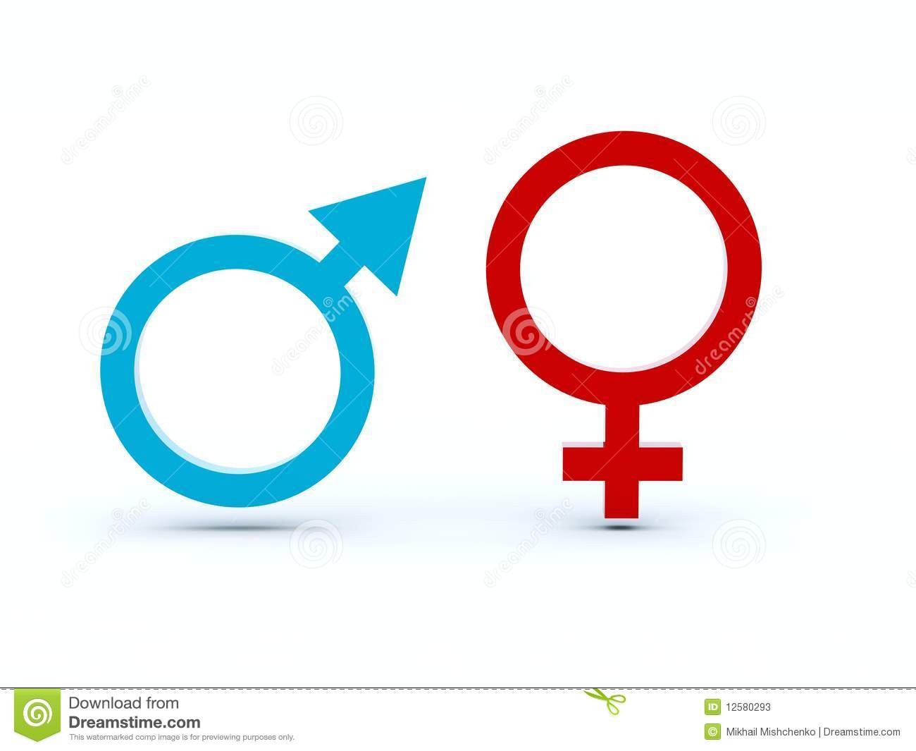 Symbols Of Venus And Mars Stock Illustration Illustration Of Women