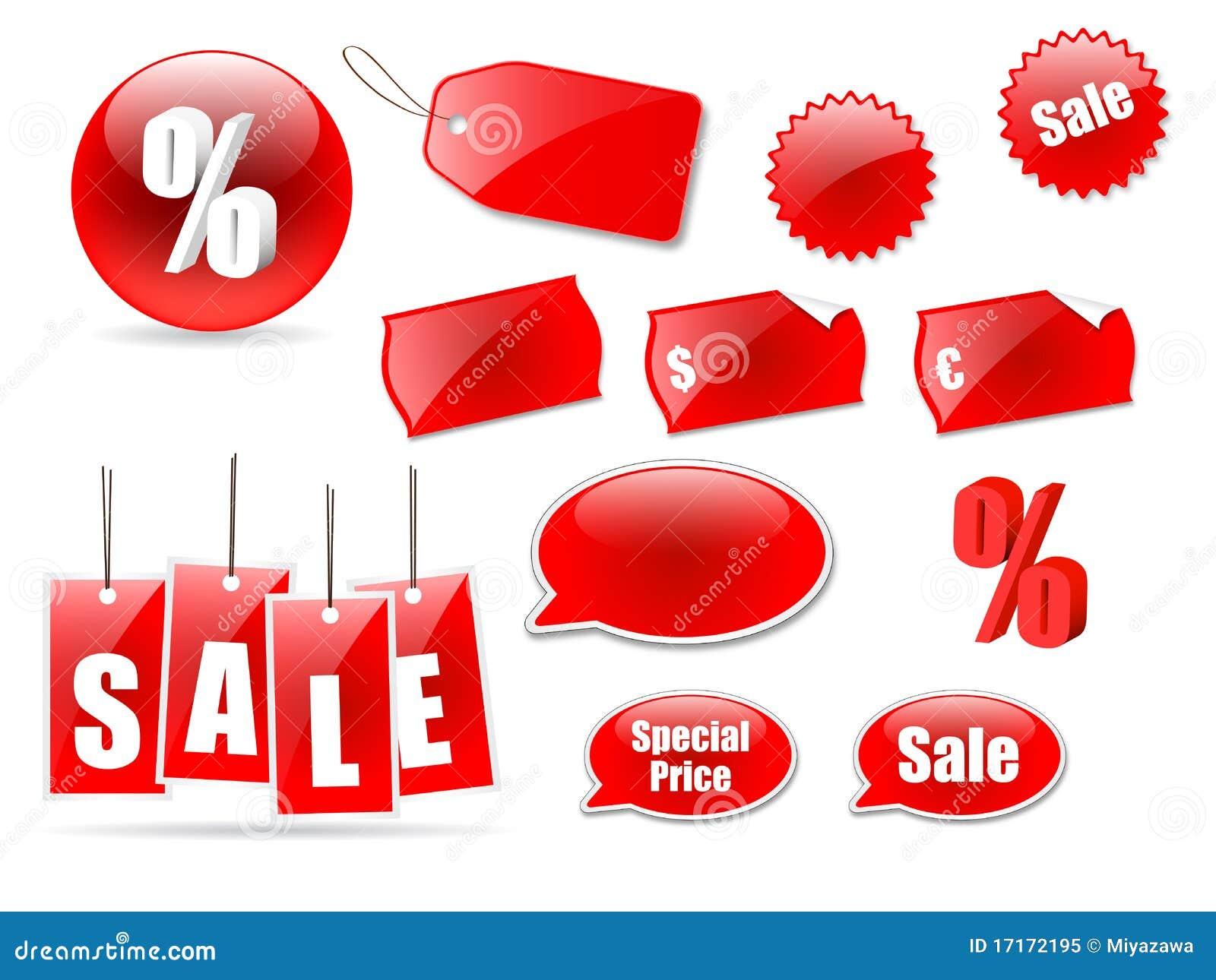 Symbolsetikettförsäljning