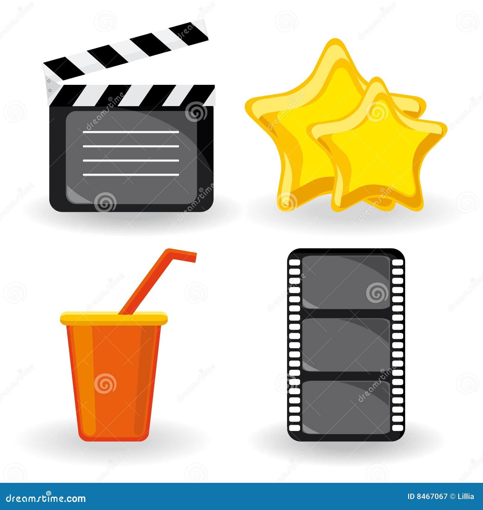 Symbolsfilm för färg fyra