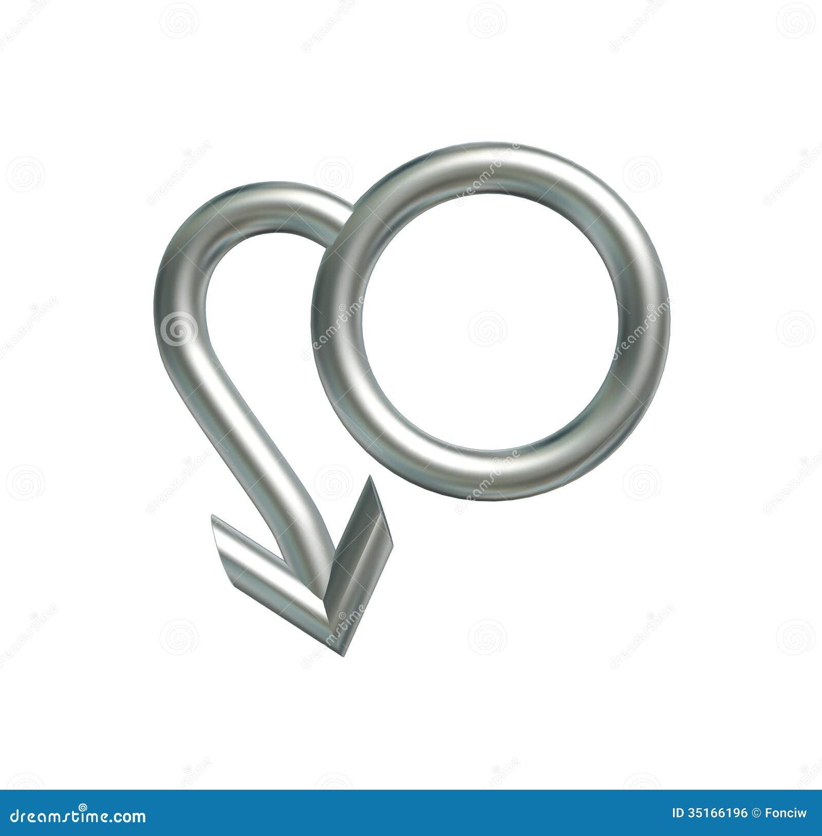 Symbolu mężczyzna
