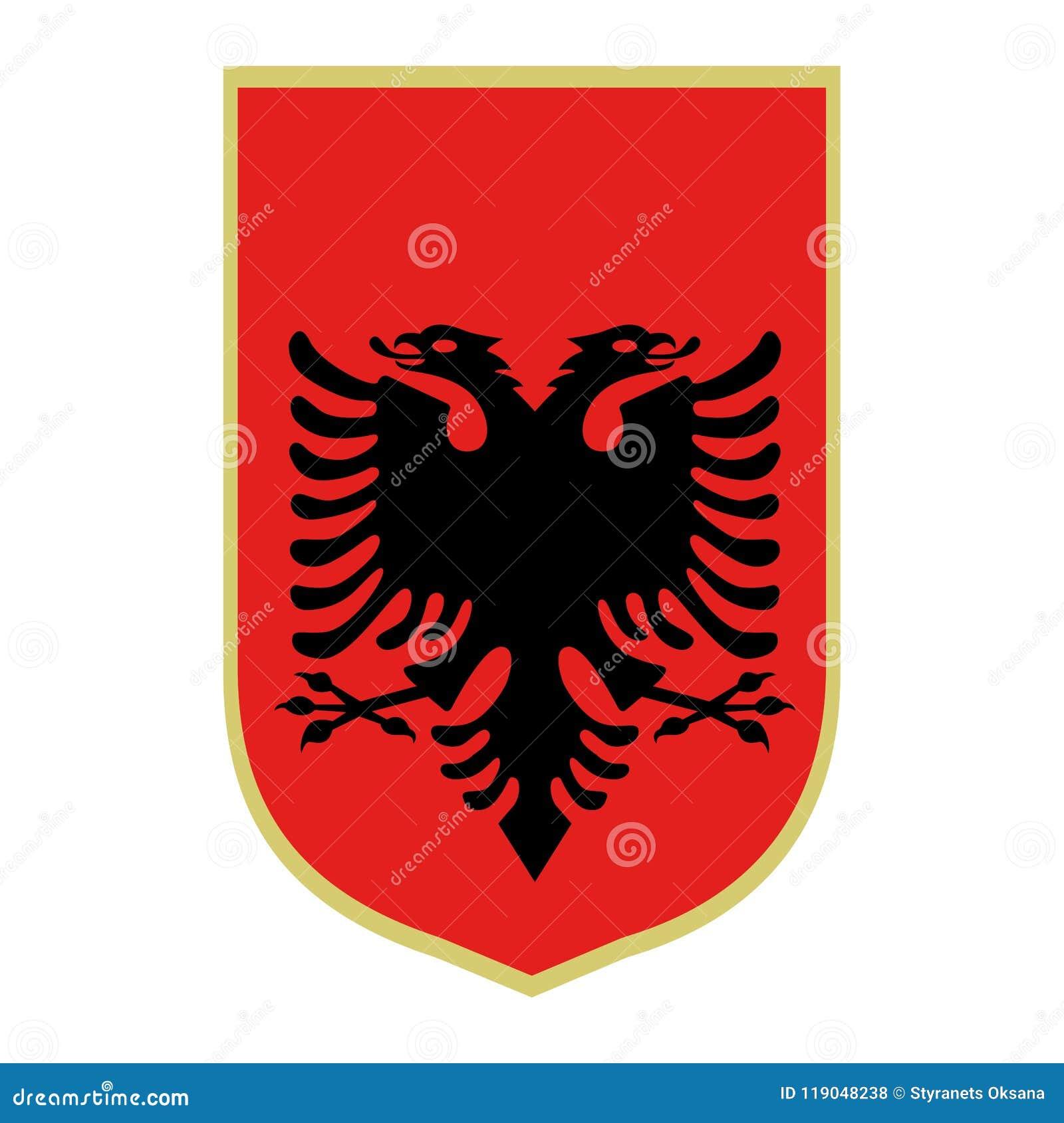 Symbool van Albanië