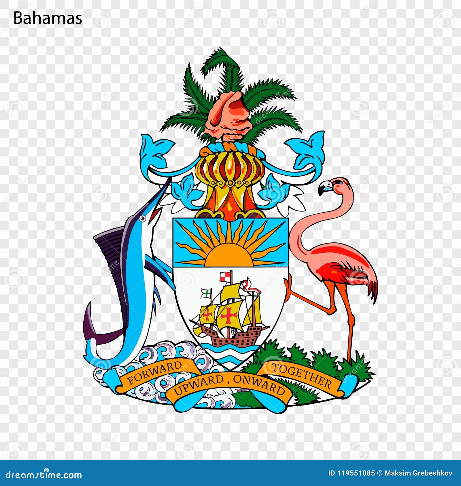 Symbool van de Bahamas