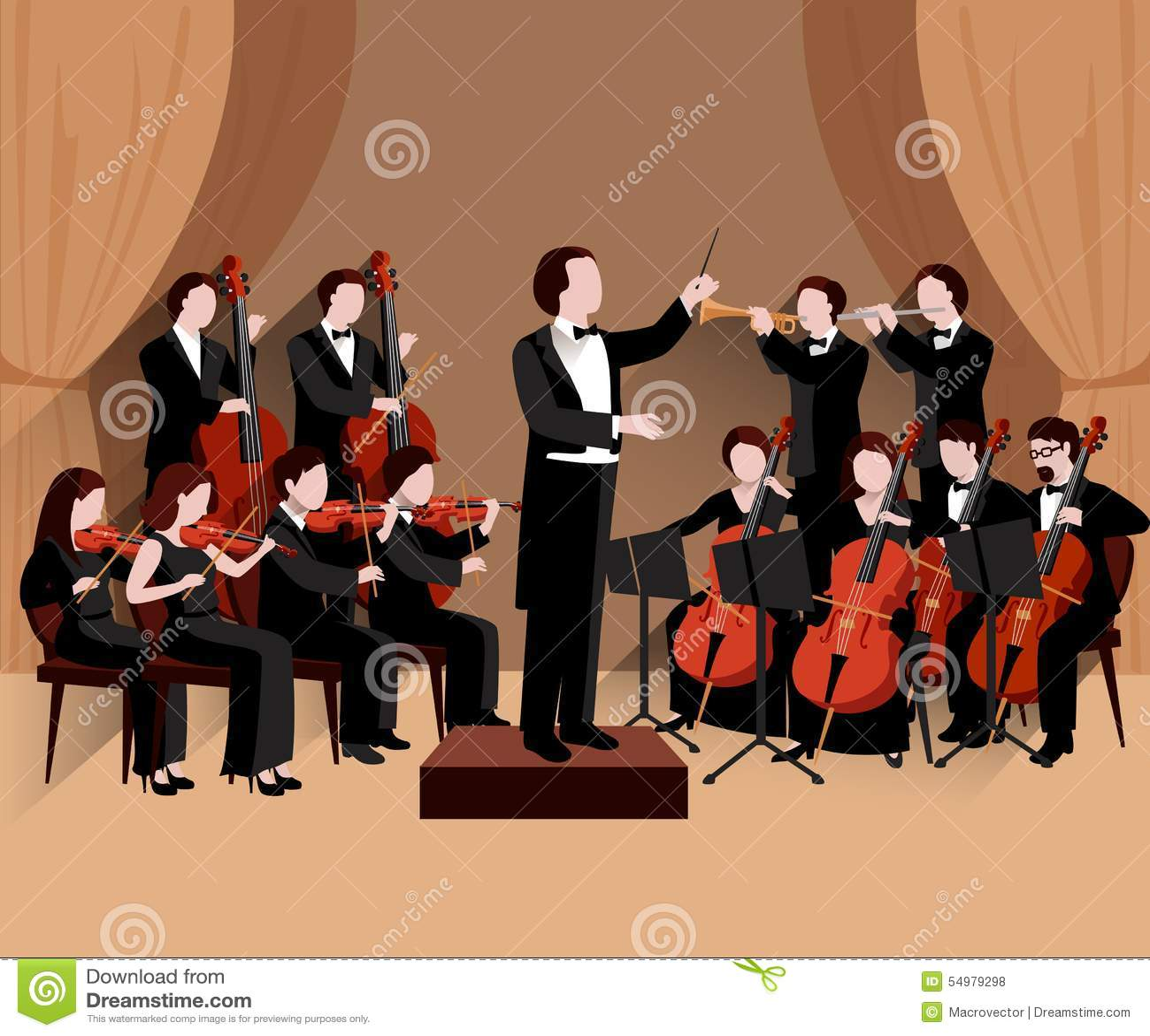 Symphonic orkesterlägenhet