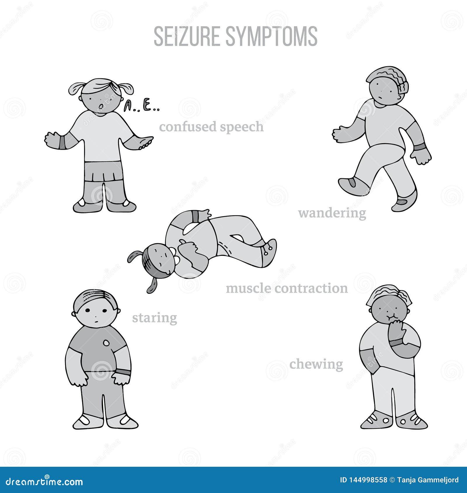 Symptômes de saisie d épilepsie