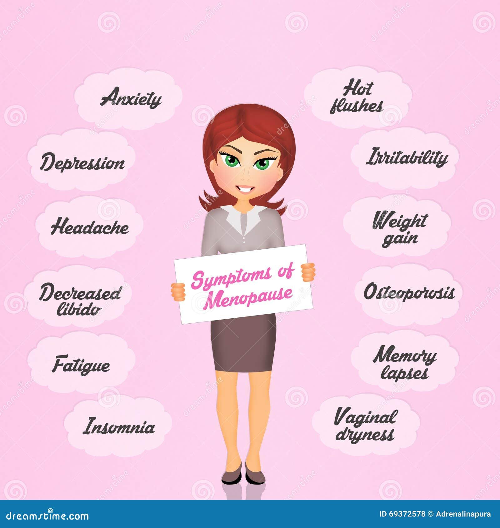 symptomen opvliegers overgang