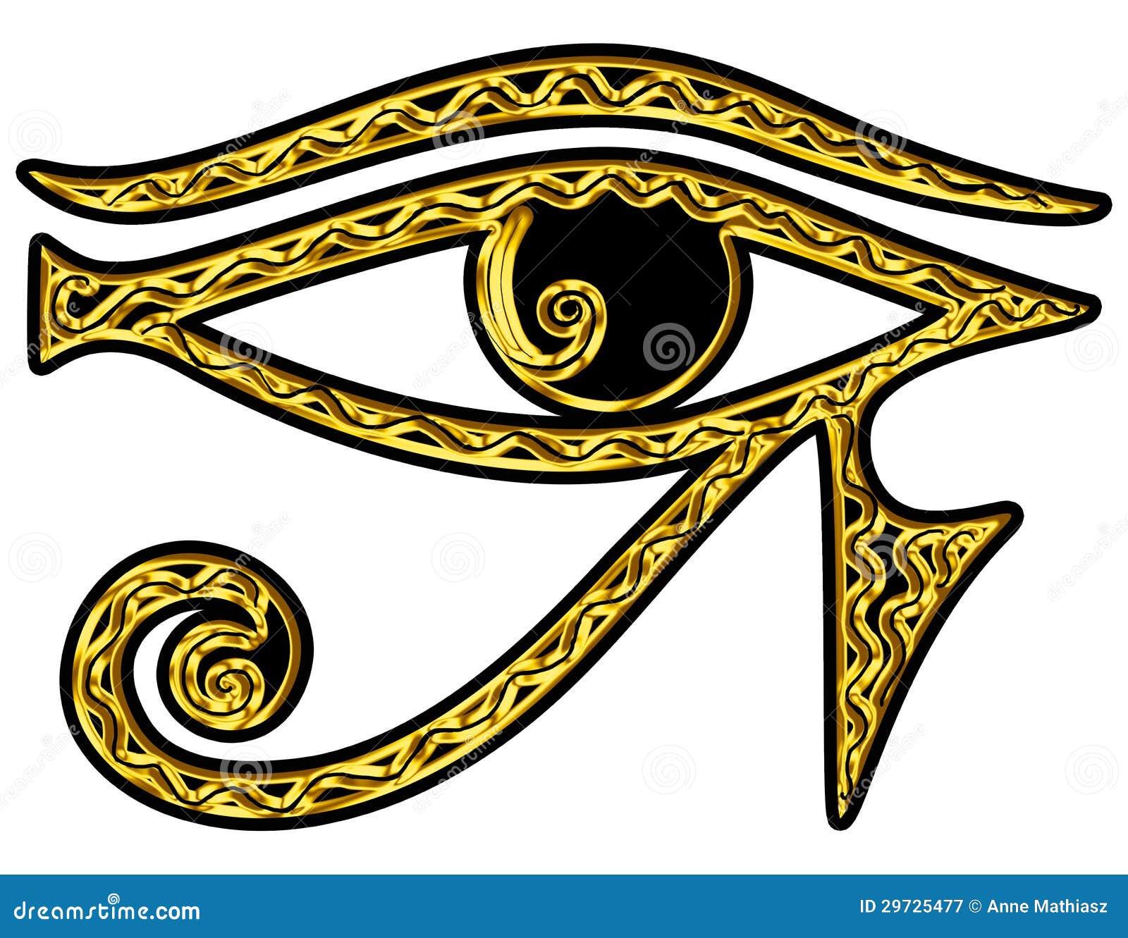 Syna av omvända Horus - syna av Thoth