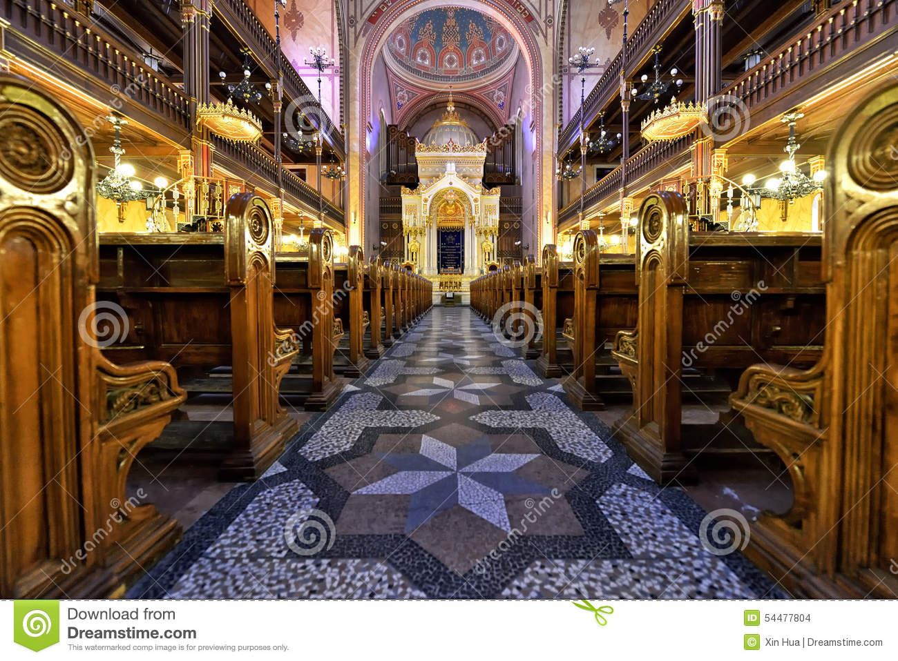 Synagogue in Budapest