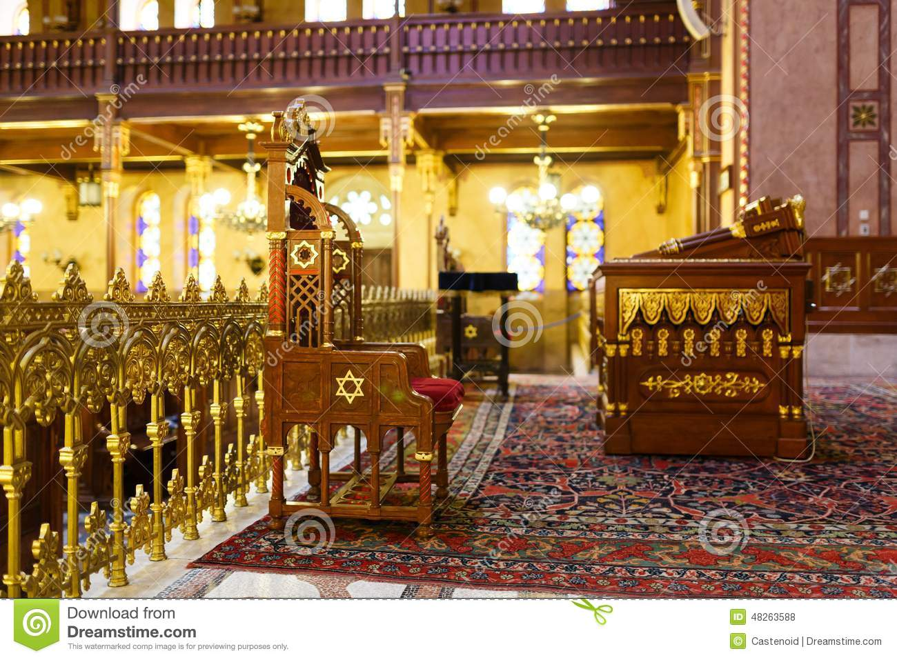 Download Synagogue in Budapest stock photo. Image of pilgrimage - 48263588