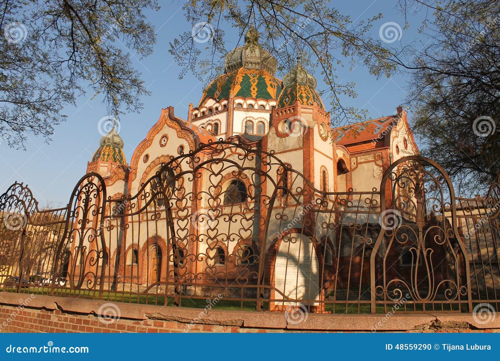 Synagogue dans Subotica