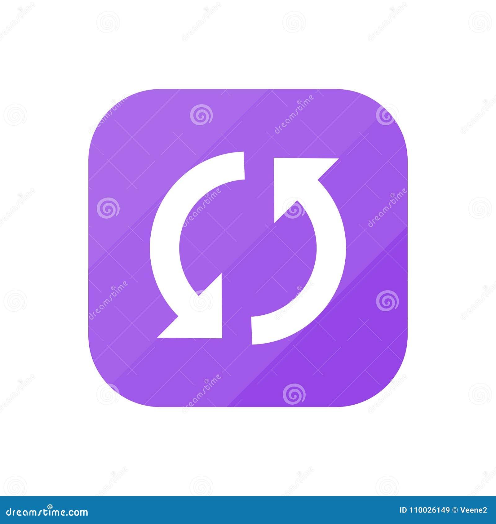 Synchronisatie - App Pictogram