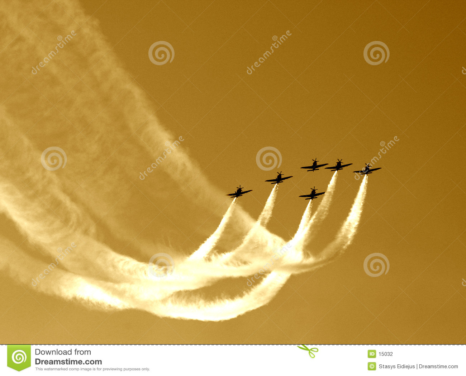 Synchronisierter Teamflug V