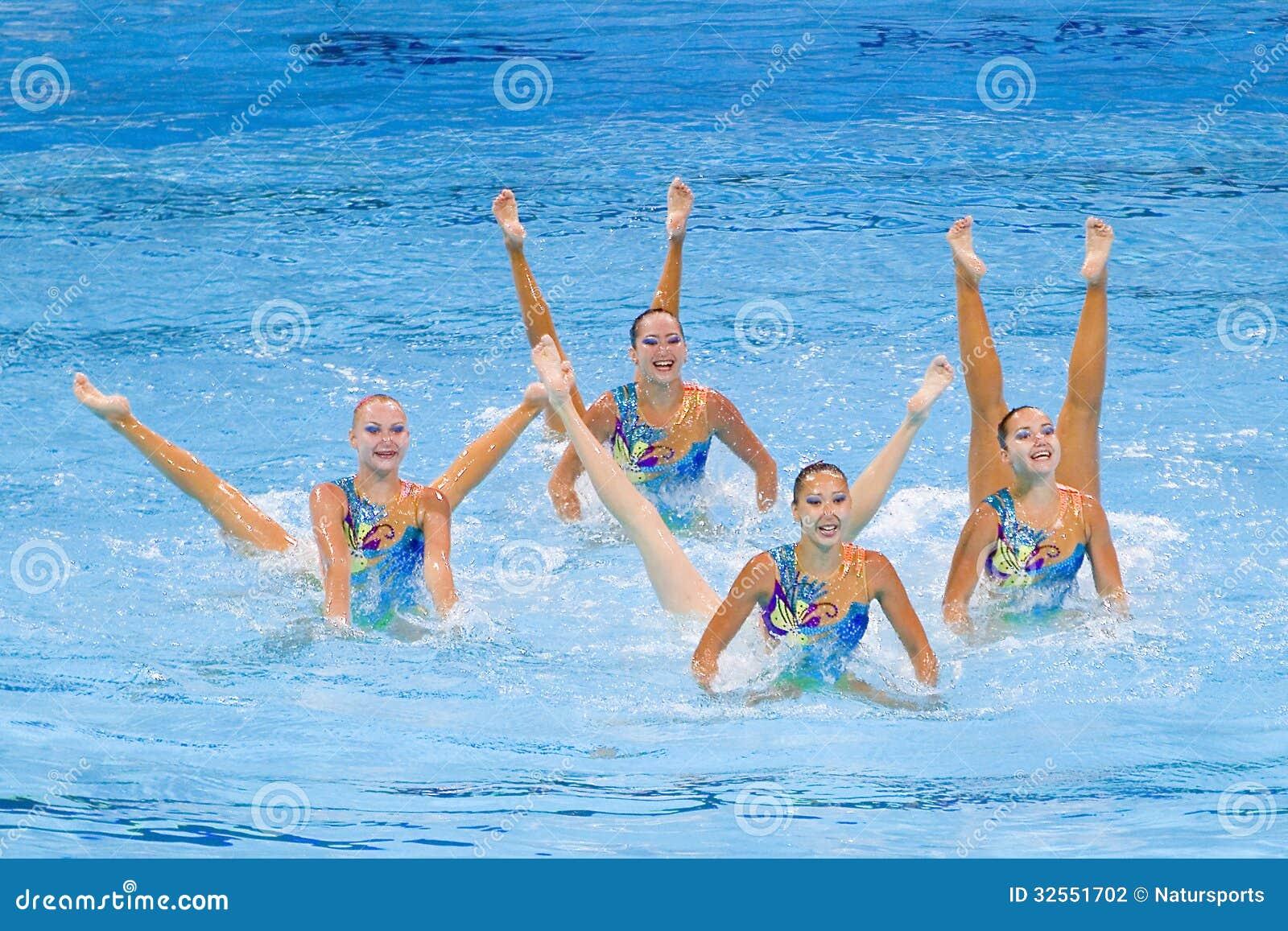Synchronized swimming - Kazakhstan