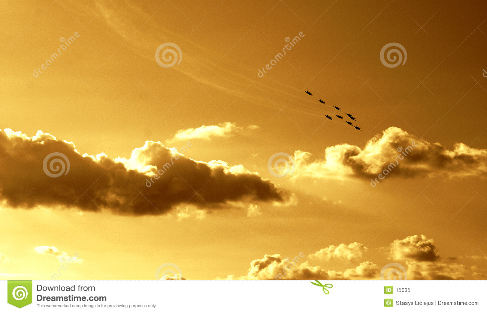 Synchronized team flight VI