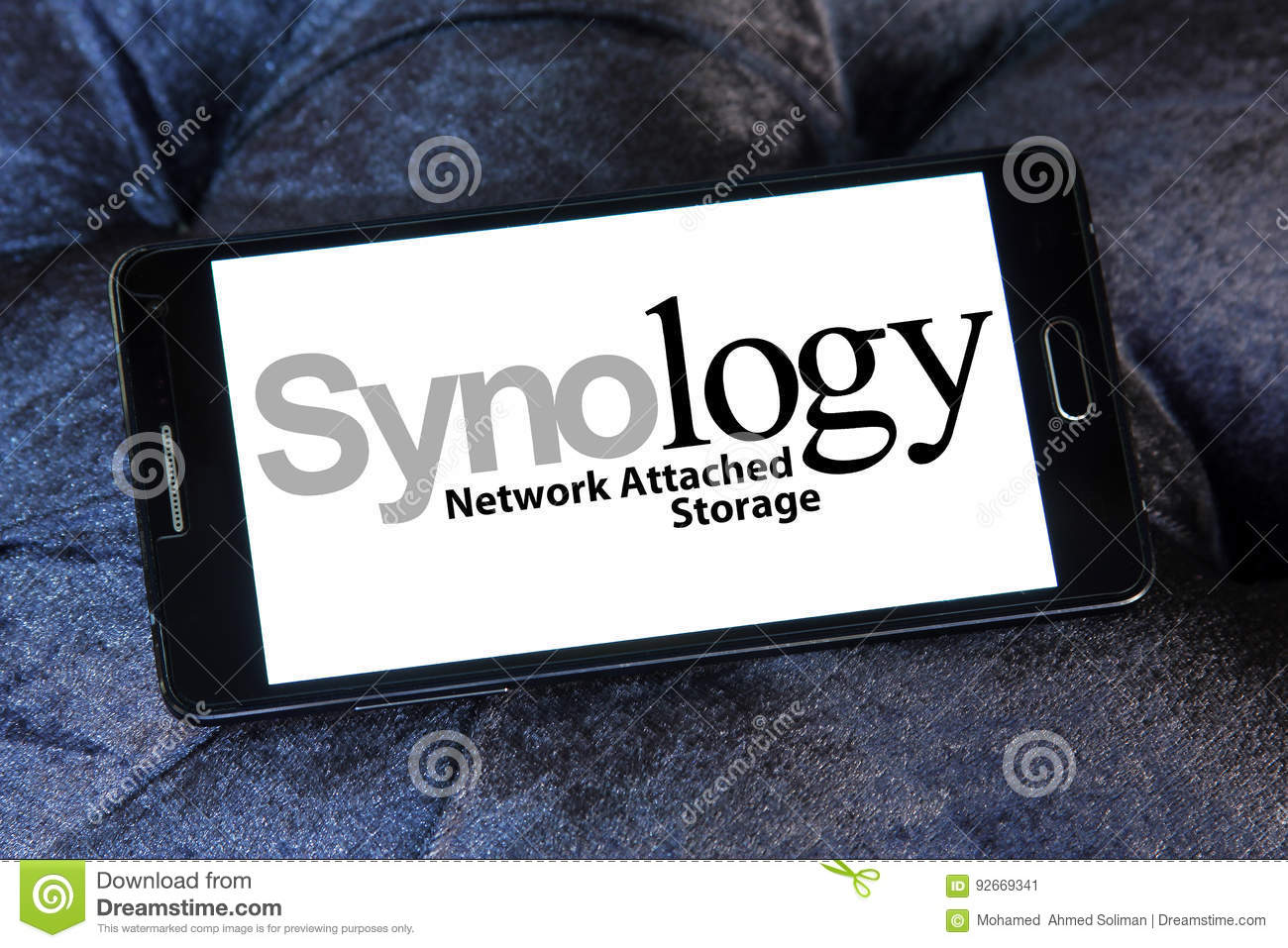 Synology Network Attached Storage Logo Editorial Photo