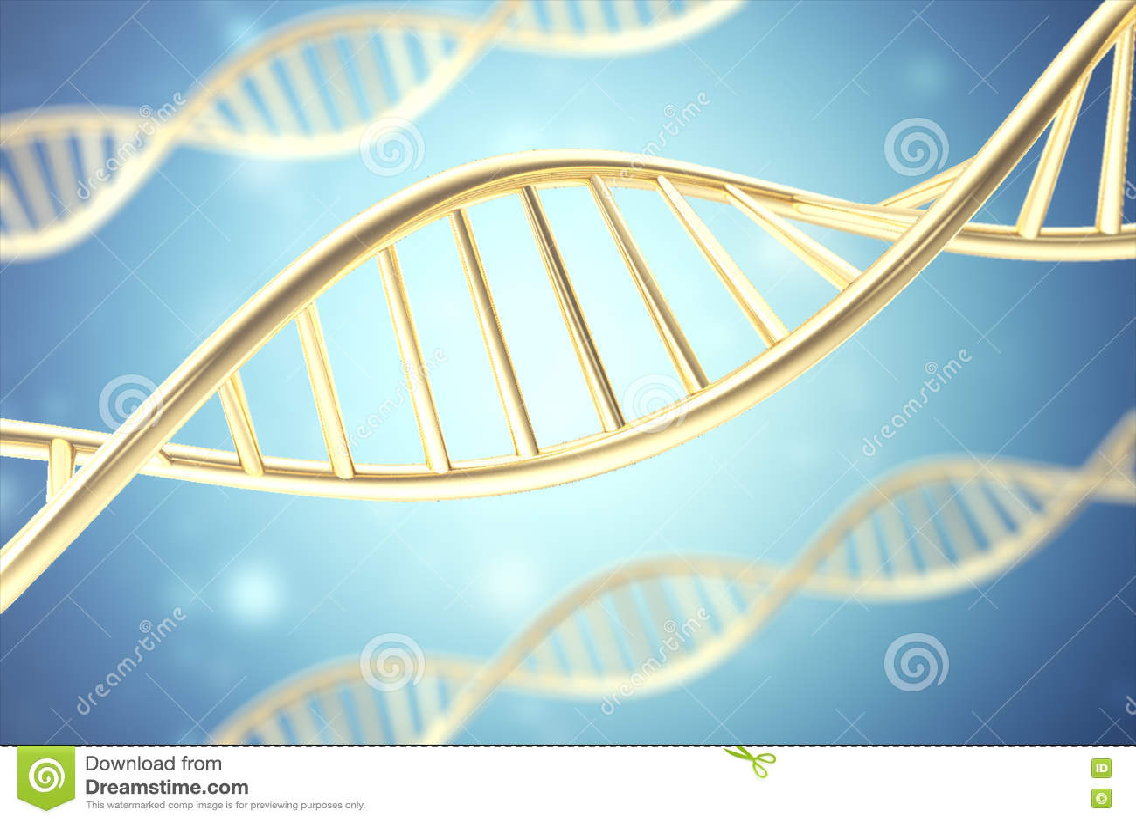Syntetyczna, sztuczna DNA molekuła pojęcie sztuczna inteligencja świadczenia 3 d
