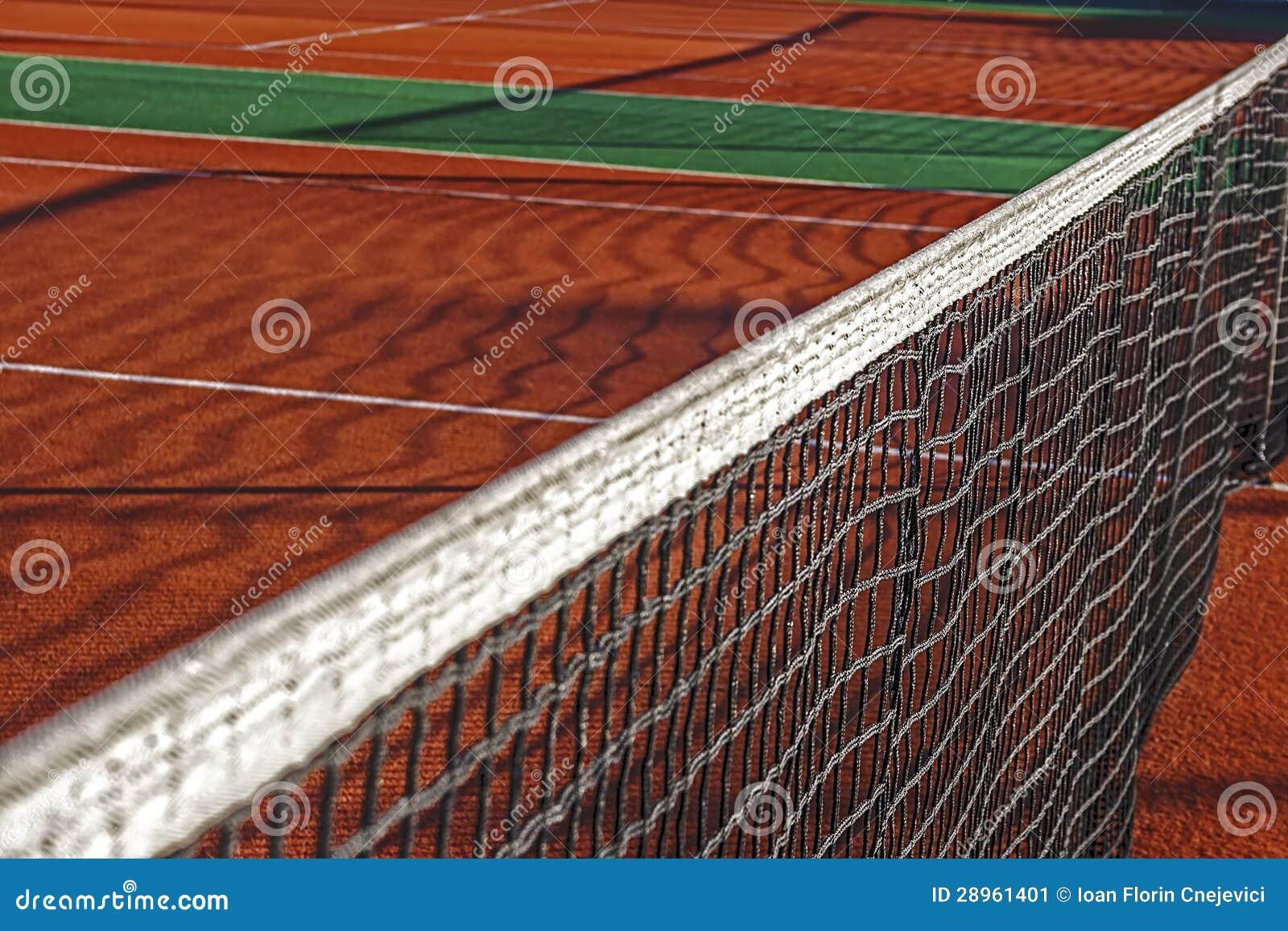 Syntetyczny sporta pole dla tenisa (1)