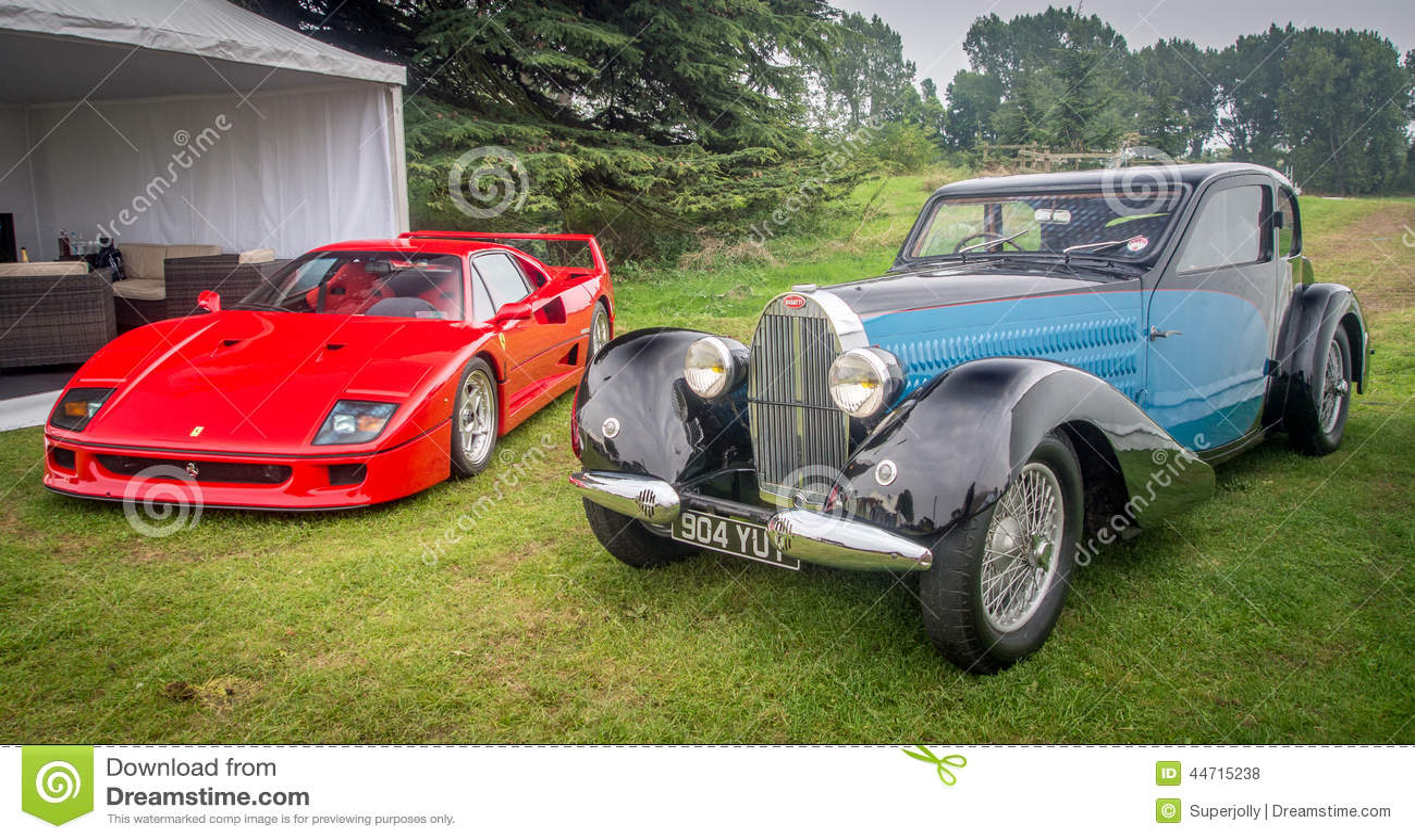 Syon Park, London Salon Prive Super Sports Motor Car Show Ferarri ...