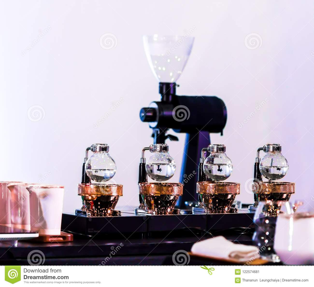 How to collect a siphon